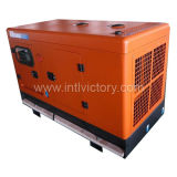 Diesel Engine Silent Type Generator of Power 10kVA ~ 50kVA