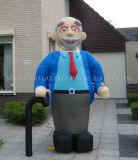 Inflatable Holland Carton Abraham Balloon Doll (K9007)