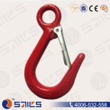 Large Open Hook with Latch Sr-J