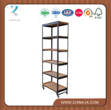 Metal Retail Display Stand with 6 Tier Shelves