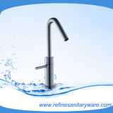 High Neck Fashion Look Basin Mixer From China (R1256M)