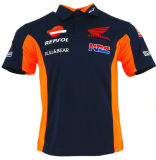 Wholesale Customized Race Car T Shirts Motorcycle Polo Shirts