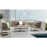 Aluminum Sofa Set with Cushion Outdoor Sofa Set Garden Furniture Patio Furniture Hotel Project Sofa Set