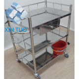 Economic with Storage Box Medical Trolley