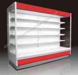 Commercial Vertical Multideck Refrigerator Cooler Showcase for Supermarket