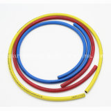 Refrigeration Charging Hoses Set of Blue, Red, Yellow
