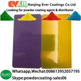 Decorative Transparent Clear Color Topcoat Electrostatic Spray Powder Coating