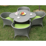 Outdoor Leisure Rattan Coffee Set (DS-06037)
