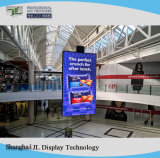 Indoor Advertising Full Color LED Display Screen for Fixed Installation or Rental P4