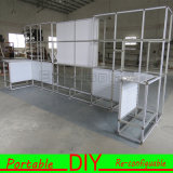 Custom Portable Modular Trade Show Exhibition Booth Stand Slatwall Display