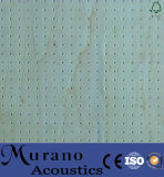 Superior Sound Absorption Performance MDF Wooden Perforated Acoustic Panel