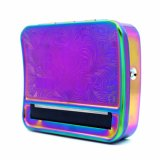 2018 New Design Rainbow Color Manual 70mm Cigarette Case