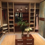Welbom High Quality Walk-in Wooden Wardrobe Design