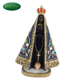 Resin Religous Brazil Our Lady of N. Sra. Aparecida 13cm