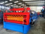 Roof and Wall Sheet Double Layer Roof Panel Step Tile Roll Forming Machine Price