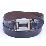Good Quality Casual Snap Buckle PU Leather Belt for Man