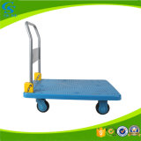 Plastic Foldable Trolley Handcart with Wheels