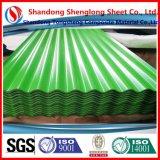 30-275G/M2 Zinc Coating PPGI Color Coated Galvanized Corrugated Steel Sheet