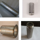 Stainless Steel Perforated Sheets Filter Mesh/Perforated Metal Mesh Filter Tubes/Stainless Steel Perforated Cylinder Filter