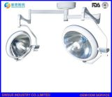 Hospital Equipment Ceiling Double Head Shadowless Halogen Surgical Operating Light/Lamp
