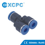 Pneumatic Tube Push in Fittings
