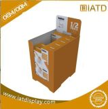 Custom Recycling Cardboard Paper Floor Dump Bin for Storing