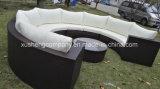 New Design Round Rattan Outdoor Sectional Garden Wicker Furniture