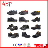 Hot Selling Anti Slip Waterproof Cheap Leather Working Safety Shoes
