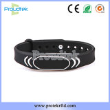 13.56MHz MIFARE RFID Silicone Size Adjustable Waterproof Sports Wristband