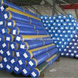 Wholesale China Heavy Duty Waterproof 120g M2 4m Width Double Coated Blue PE Tarpaulin in Roll