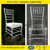 Knock Down Type Clear Resin Chiavari Tiffany Chair