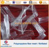 Cement Concrete Reinforcement Fibrillated Polypropylene Fibre