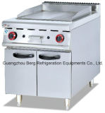 Stainless Steel Gas Griddle (half flat and half groove)