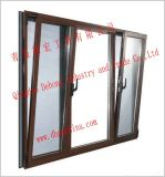Sliding Window/Casement PVC Window with Tempered Glass