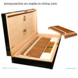 Lacquer Printing Cigar Wooden Box with Customzied Logo