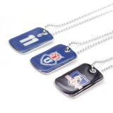 Cheap Custom Dog Tag Necklace with Ball Chain