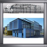 Customized Steel Structure Light Steel 2 Floor Container House for Warehouse