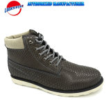 Fw18 Newest Men Fashion Casual Shoes Classic Boots Style with Snakeskin PU Design in Good Price