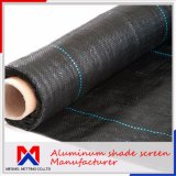 Black and Dark Green Weed Control Mat for Agriculture Use