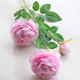 Factory Direct Artificial Silk Peony Wedding Flower/Real Touch Silk Flower