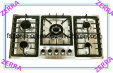 Built-in Good Quality Stainless Steel 5 Burners Gas Hob (JZS85202A)