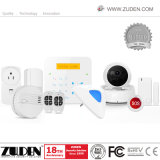 2018 Newest WiFi Home Security Wireless Burglar GSM Alarm System with IP Camera