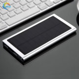 Slim Type Solar Power Bank 10000mAh Battery Charging