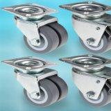 Heavy Duty Swivel Caster Wheels Rubber Chairs Wheels with Brake