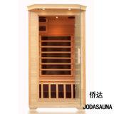 2019 New Product Far Infrared Sauna Canada Hemlock Wood Sauna