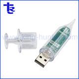 Hospital Promotional Gift Syringe for Injection Shape USB Thumb Drive