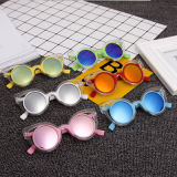 2018 Fashion Round Kids Sunglasses Children Sun Glasses Anti-UV Baby Vintage Eyeglasses Girl Cool 6color Infantil