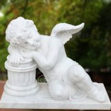 Small Marble Angel Statue Sculpture