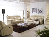 Modern Leather Recliner Sofa (924)