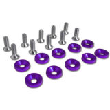 Washer Flush Bolt Aluminum Fender Washer M6 Dress up Kit